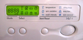Washing Machine Controls